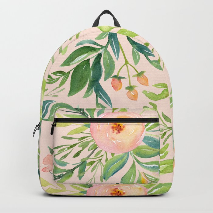 Pink Meadow Backpack