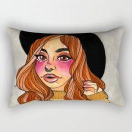 Fall Witch Rectangular Pillow