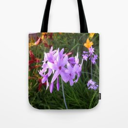 Transcontinental Bouquet Tote Bag