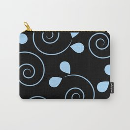 Swirls And Petals Carry-All Pouch