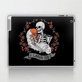 I Larva You Laptop & iPad Skin