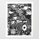 Planet Shooz | Limited Edition of 50 Prints by kaleidodrama