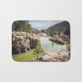 Animas River Colorado Bath Mat