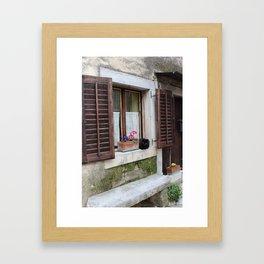 Grožnjan, Croatia Framed Art Print