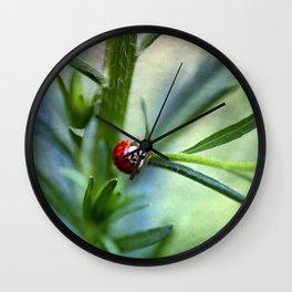Lady Bird Wall Clock