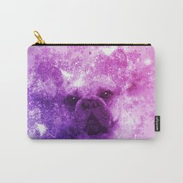 French Bulldog Christmas Holidays Carry-All Pouch
