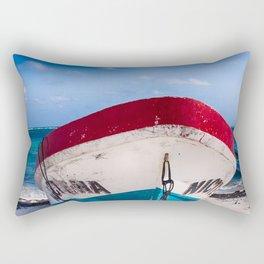 At the beach Rectangular Pillow