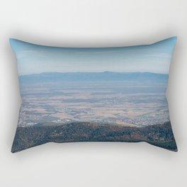 View at the mountains Rectangular Pillow