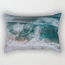 Sea from above Rectangular Pillow