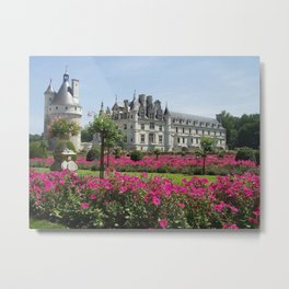 Château de Chenonceau Metal Print