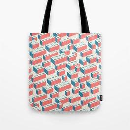 Building Blocks Pattern – Colour Tote Bag