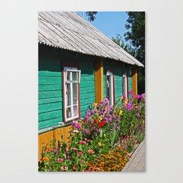 House in Trakai Canvas Print