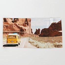 Van Life / Utah Beach Towel