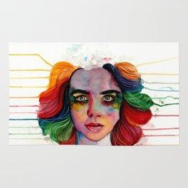 A Grieving Rainbow Rug