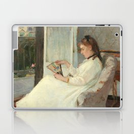 The Artist's Sister at a Window by Berthe Morisot Laptop & iPad Skin