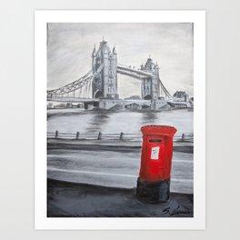 U.K Art Print