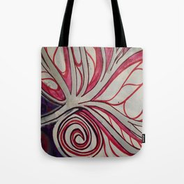 Purple pattern Tote Bag