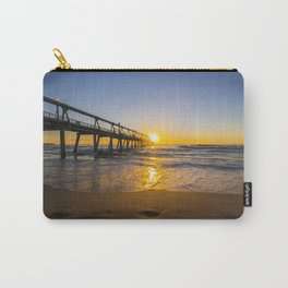 Southport Jetty at Sunrise Carry-All Pouch