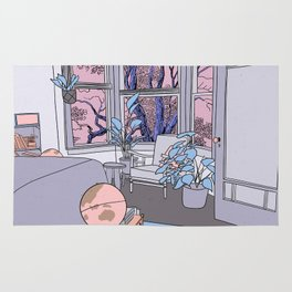 Empty Room Rug