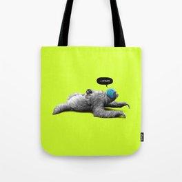 Speed Sloth Tote Bag