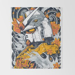 Gundam Throw Blanket
