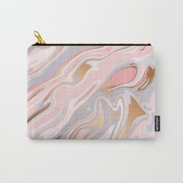 Marble and Gold 005 Carry-All Pouch