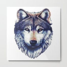 Wolf. Metal Print