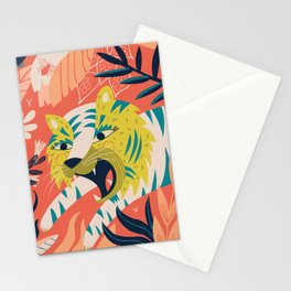 Tiger grrrrr Stationery Cards