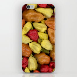 Hot Peppers iPhone Skin