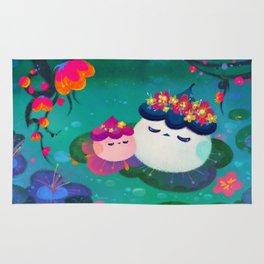 Water bloom / cuddlefish Rug
