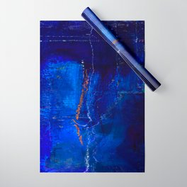 Into The Blue No.3a by Kathy Morton Stanion Wrapping Paper