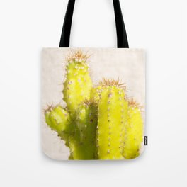 lemon cactus Tote Bag
