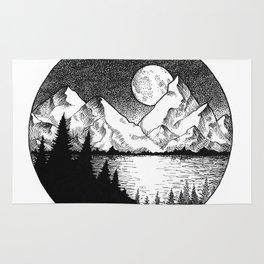Moonlit Alaska Rug