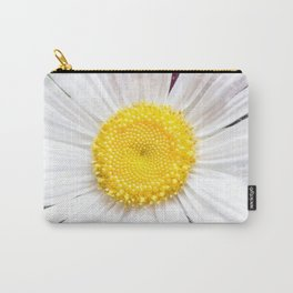 Daisy Flower Close-Up #1 #art #society6 Carry-All Pouch