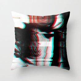 Bad Signal Throw Pillow