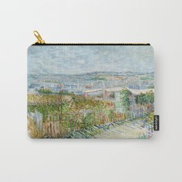 Vegetable Gardens at Montmartre by Vincent van Gogh Carry-All Pouch