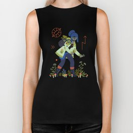 Witch Series: Plants and Herbs Biker Tank