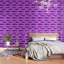 Violet Batty Flight Wallpaper