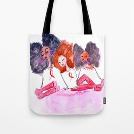 Unbothered Breast Cancer Awareness Tote Bag