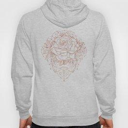 Mandala Lunar Rose Gold Hoody