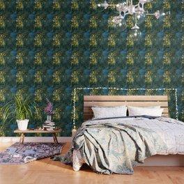 Claude Monet Dark Water  Lilies Wallpaper
