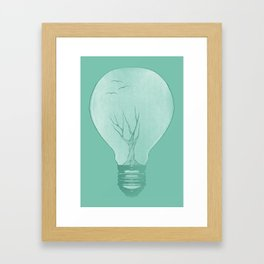 Ideas Grow 2 Framed Art Print