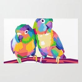 Love Bird POP ART Rug