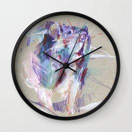 Purple rat Wall Clock