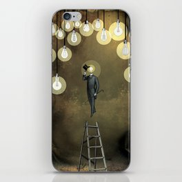 Enlightened World iPhone Skin