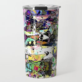 Chaos In Color Travel Mug