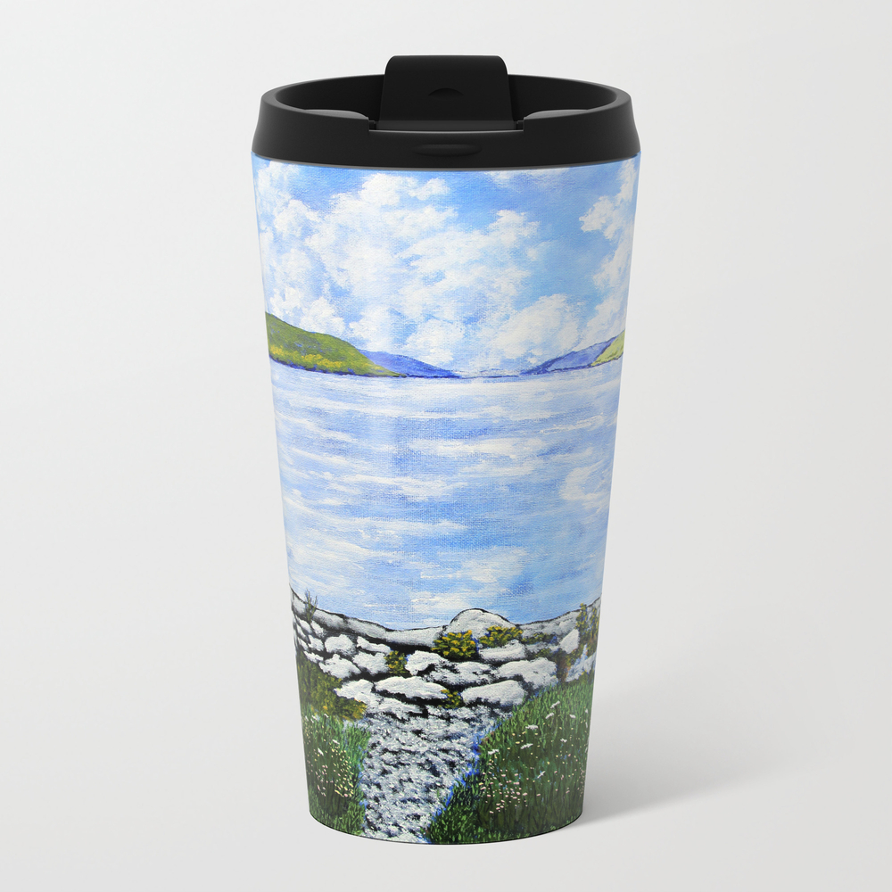 Hemlock Lake Metal Travel Mug by Mikekraus MTM9009380