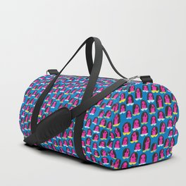 Pattern Project / Pink Heads Duffle Bag