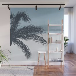 Palm and Ocean Wall Mural