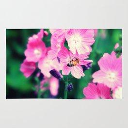 Hornet and Flower Rug